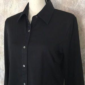 J. McLaughlin Black Shirt